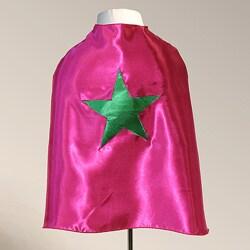 Power Capes Fuchsia and Kelly Green Star Superhero Cape