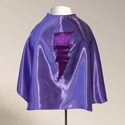 Power Capes Light Purple and Orchid Lightning Bolt Superhero Cape