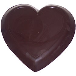 Lang's Chocolates 3-pound Solid Dark Chocolate Valentines Day Heart