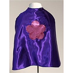 Power Capes Bubblegum Flower Purple Superhero Cape