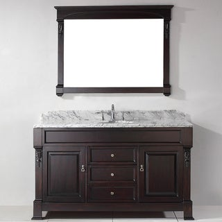 Virtu USA Huntshire 60-inch Single Sink Bathroom Vanity Set