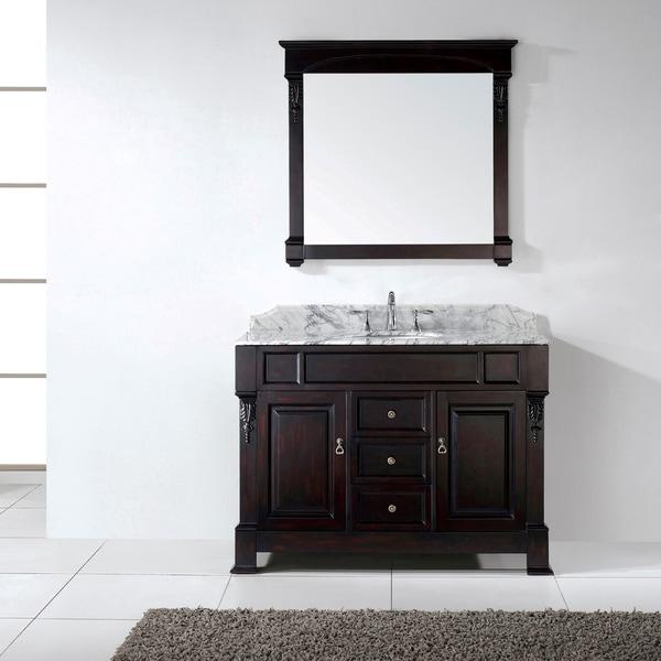 Virtu USA Huntshire 48-inch Single Sink Bathroom Vanity Set