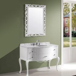 Virtu USA Charlotte Single Sink Bathroom Vanity Set