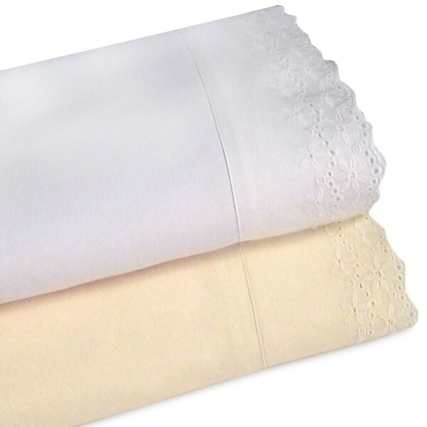 Camden Lace Micro-denier 4-piece Queen-size Sheet Set