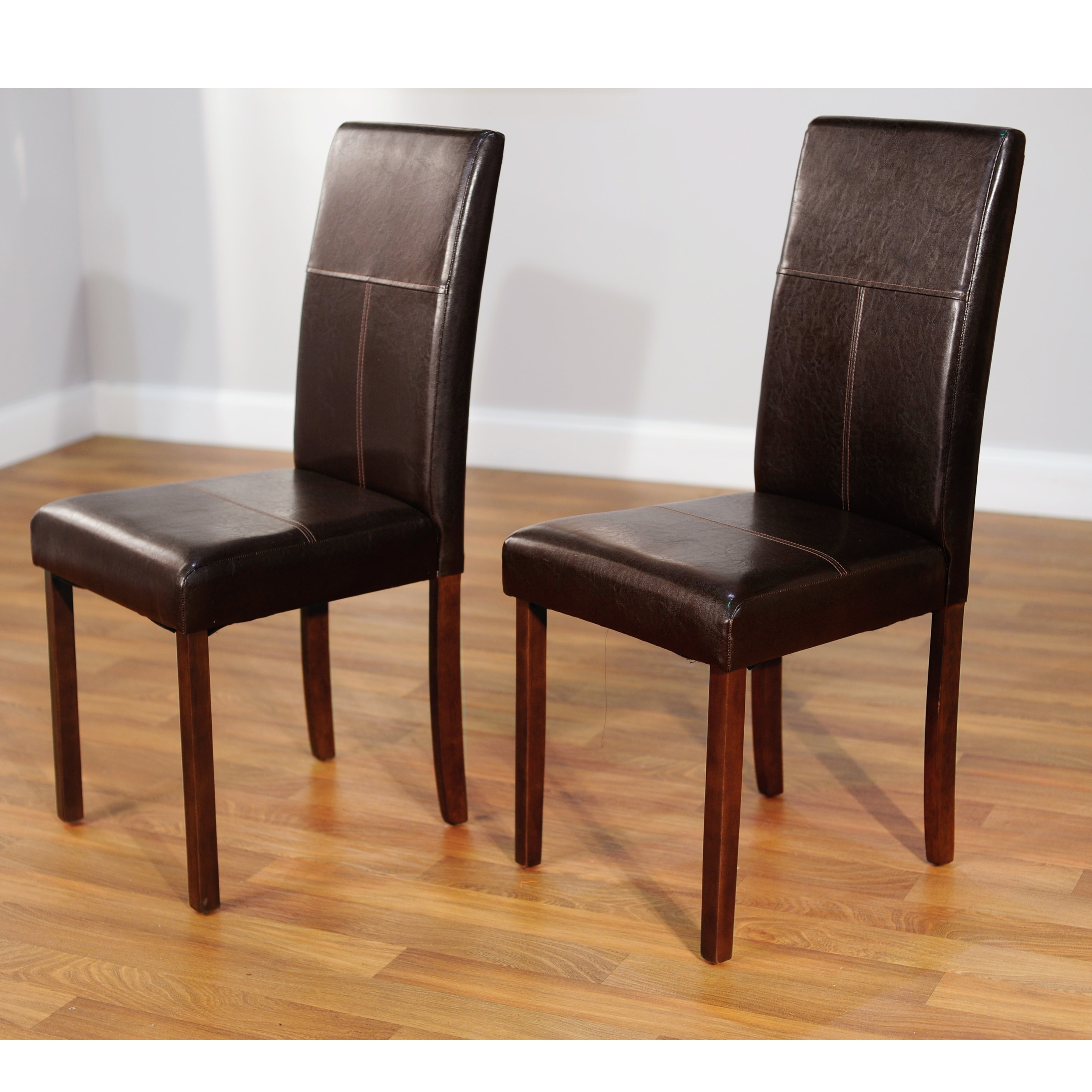 simple living bettega parson chair set of 2 overstock
