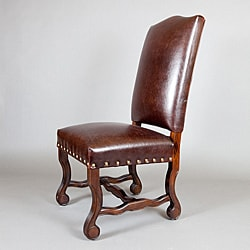 Monterey Leather Dining Chairs (Set of 2)