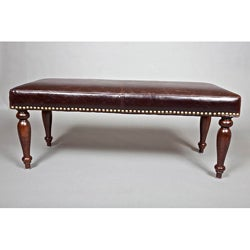 Monroe 48-inch Leather Bench