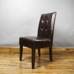 Manhattan Faux Leather Dining Chairs (Set of 2)