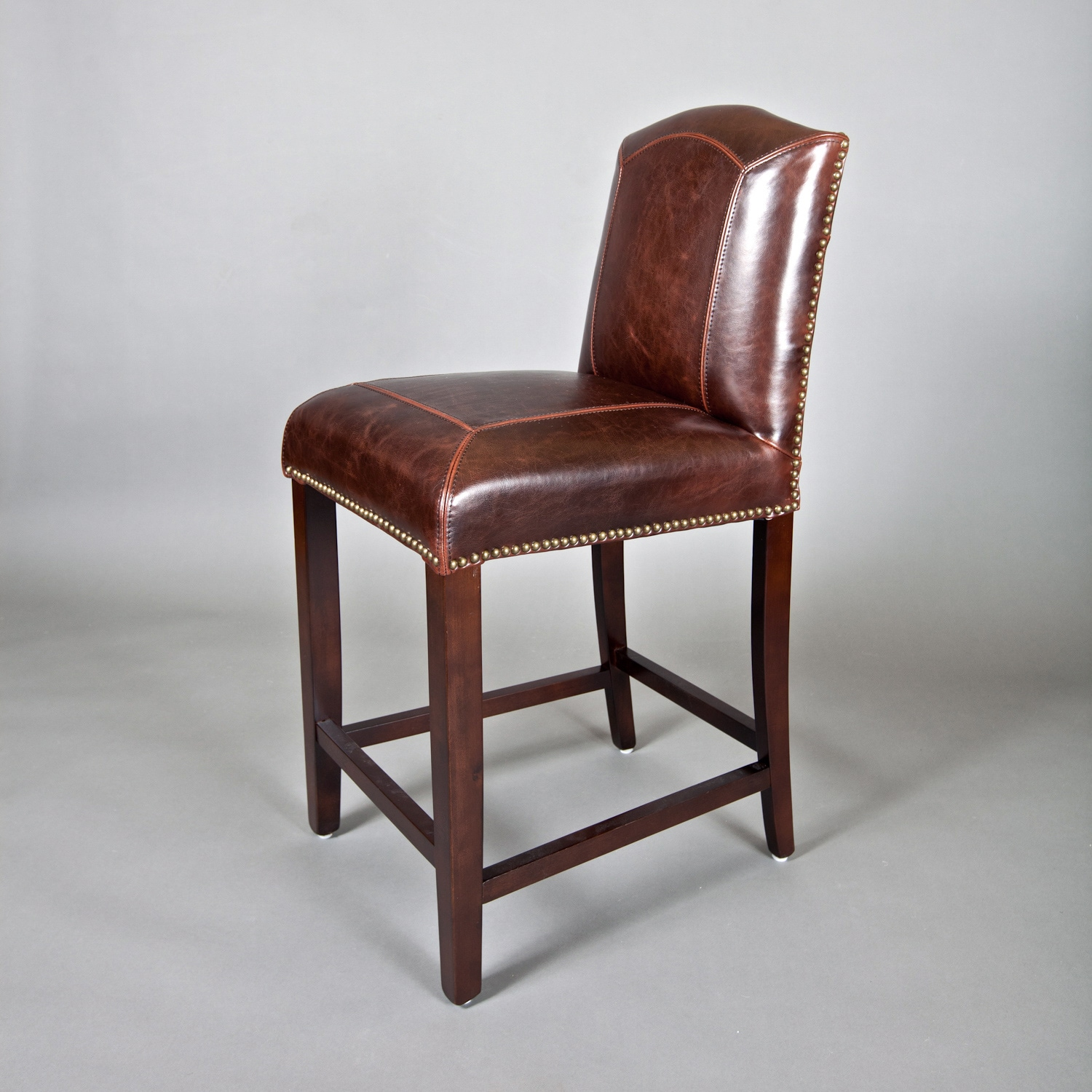 Leather counter stool overstock shopping great deals on bar stools