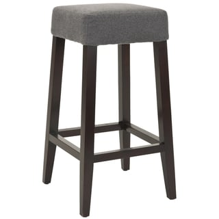 Safavieh Uptown Grey Polyester 30.3-inch Bar Stool