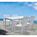 Bradley 5-piece Table/ Armchair Outdoor Dining Set
