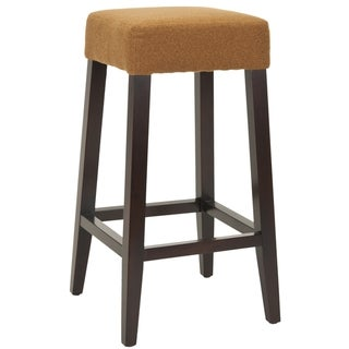 Safavieh Uptown Camel Polyester 30.3-inch Bar Stool