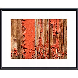 John Nakata Chipped Paint Abstract' Framed Print