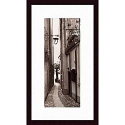 Alan Blaustein 'La Strada, Portofino' Framed Print