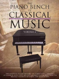 The Piano Bench of Classical Music (Paperback)
