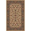 Tufted Isfahan Stone Blended Wool Accent Rug (3' x 5')