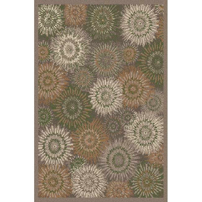 Tufted Sydney Earth Blended Wool Area Rug (5' x 7')
