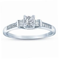 14k White Gold 1/2ct TDW Diamond Promise Ring (G-H, I1-I2)