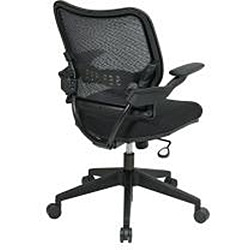 Space 13 Series Black Air Grid Office Chair