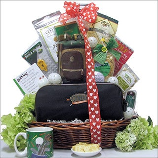 Great Arrivals Hole In One: Valentine's Day Golf Gift Basket