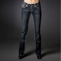 Laguna Beach Jeans Women's 'Capistrano Beach' Double Stitch Boot Cut Denim Jeans