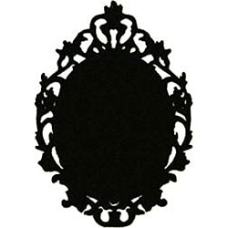 Instant Chalkboard Victorian Picture Frame Sticker