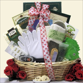 'Hand and Foot Therapy: Valentine's Day' Spa Gift Basket