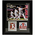 St. Louis Cardinals 2011 World Series Champion Albert Pujols Deluxe Stat Frame