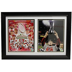 St. Louis Cardinals 2011 World Series Champions Double Frame