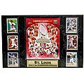 Encore Select 2011 World Series Champion St. Louis Cardinals 6-card Plaque