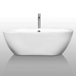 Wyndham Collection Soho Freestanding Soaking Bathtub