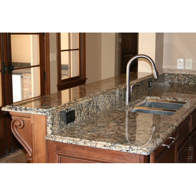 As Seen On Tv Self Adhesive Venecia Gold Instant Granite