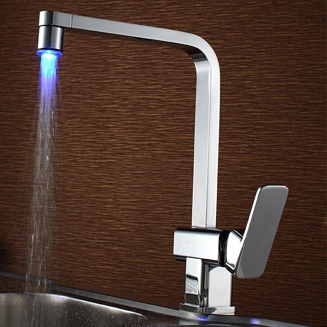 Overstock.com Sumerain LED Kitchen Faucet