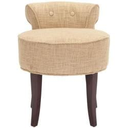 Safavieh Rochelle Gold Vanity Chair