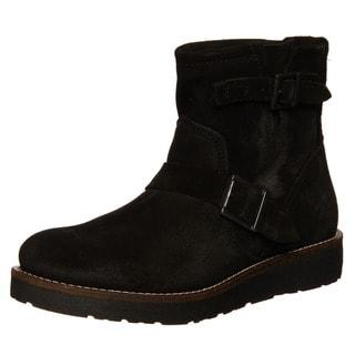 Bronx Men's 'Reno' Suede Buckle Boots