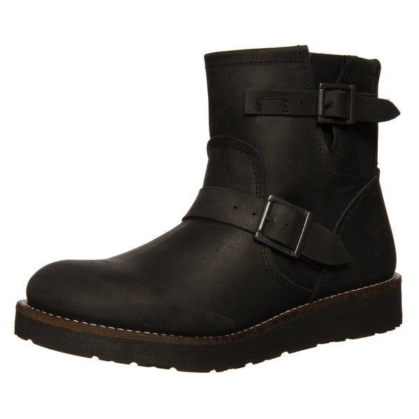 Bronx Mens 'Reno' Short Buckle Boot