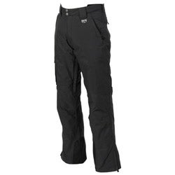 Marker Men's Black Pop Cargo Shell Pants