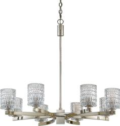 Annalie Collection Quoizel Eight-Light Crystal Chandelier