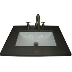 Somette Ceramic Undermount Sink