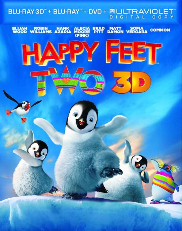 Happy Feet Two 3D (Blu-ray/DVD)