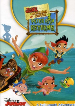 Jake And The Never Land Pirates: Peter Pan Returns! (DVD)