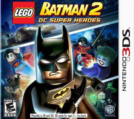 Nintendo 3DS - Lego Batman 2 DC Super Heroes