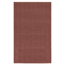 Calliope Berber Dark Ruby Red Rug (5' x 7')