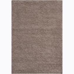 Handwoven Mandara Wool Shag Area Rug (5' x 7'6