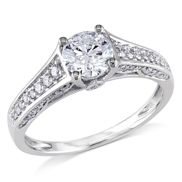 Miadora Signature Collection 14k White Gold 1ct TDW Diamond Ring (G-H, I1-I2)