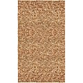 Hand-tied Pelle Tan Leather Shag Rug (8' x 10')