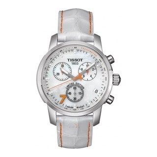 Tissot Women's 'Danica' Limited Edition Leather Strap Watch
