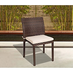 Atlantic Liberty Wicker Stacking Chair (Set of 4)