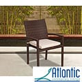 Atlantic Liberty Wicker Stacking Armchair (Set of 4)