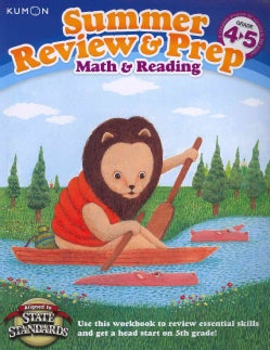 Kumon Summer Review & Prep, Grade 4-5: Math & Reading (Paperback)